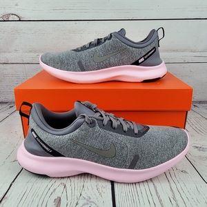 New Nike Flex Experience Run 8 Womens Grey Pink